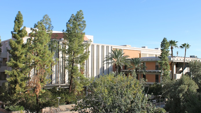outdoor shot of CNS-ASU offices