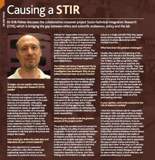 PDF about the STIR project