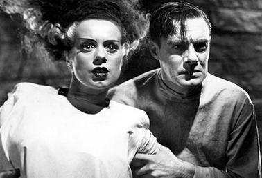 "Still from the film ""The Bride of Frankenstein"" (1935)"