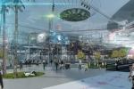 Image of a futuristic corporate campus in Phoenix